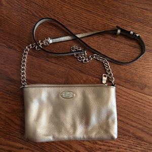 Gold Coach Crossbody